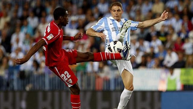 Spanish Liga - Missed chances cost Sevilla at Malaga