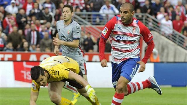 Liga - Osasuna no match for Granada