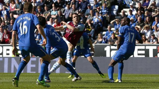 Premier League - Wigan bow out with draw against Aston Villa
