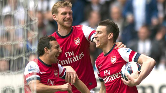 Premier League - Arsenal beat Spurs to fourth