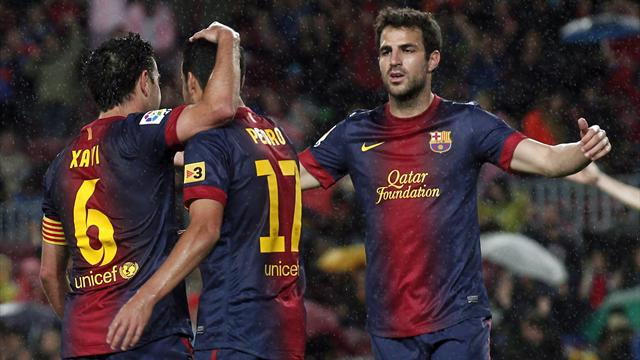 Liga - Barcelona crowned after Valladolid win