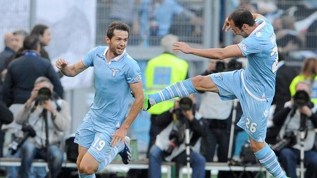Serie A - Lulic strike wins Coppa Italia for Lazio
