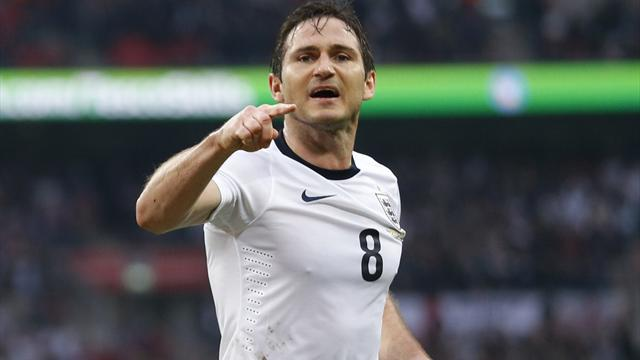 International friendlies - Lampard earns England draw with Ireland