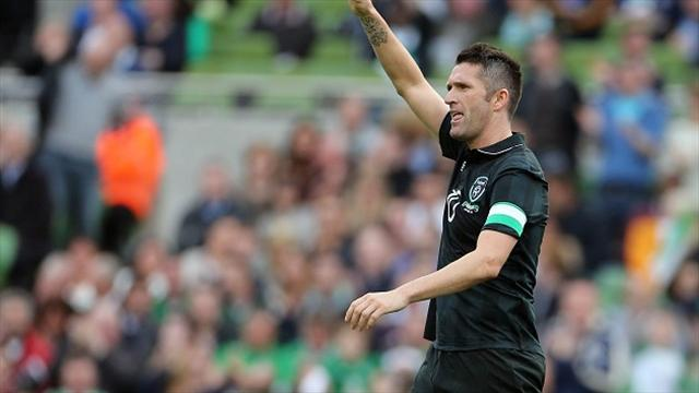 International friendlies - Keane celebrates cap record with double against 10-man Georgia