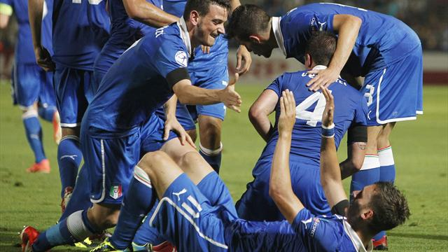Euro U21 - Gabbiadini double helps Italy reach semis