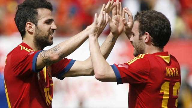 International friendlies - Spain hold on to beat Haiti