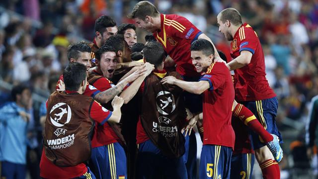 Euro U21 - Spain oust Germany with Morata winner