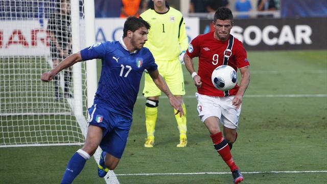 Euro U21 - Italy equalise late against Norway