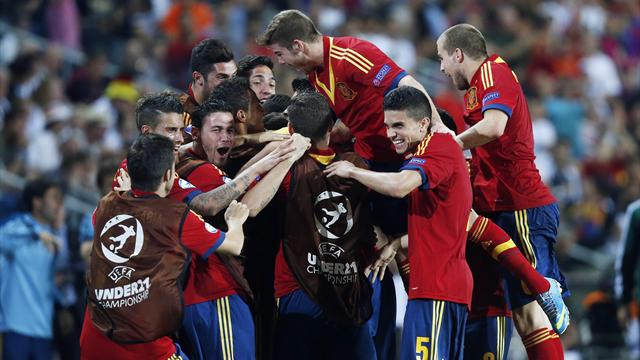 Euro U21 - Isco shines as Spain beat the Netherlands to top group