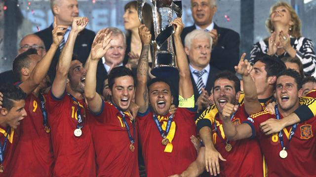 Euro U21 - Thiago hat-trick inspires Spain to U21 title