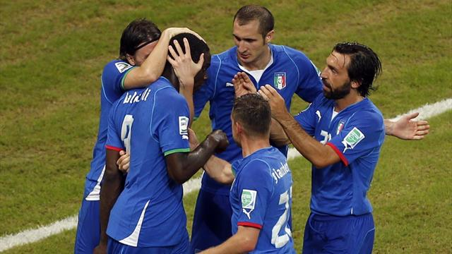Confederations Cup - Italy through to semis after seven-goal thriller