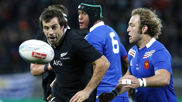 Test Match - New Zealand beat France to complete series sweep