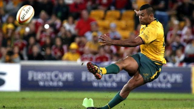 Lions Tour - Beale slip sees Lions clinch first Test win over Australia