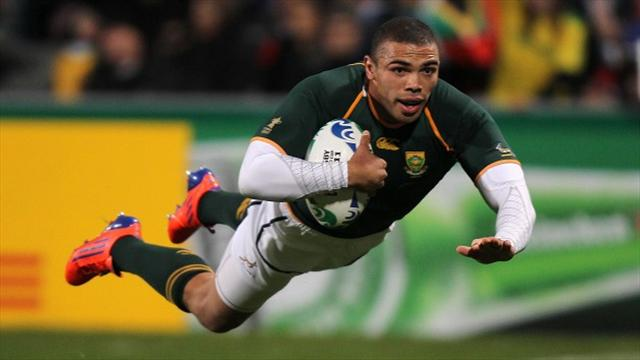 Rugby - Habana grabs brace as South Africa beat Samoa