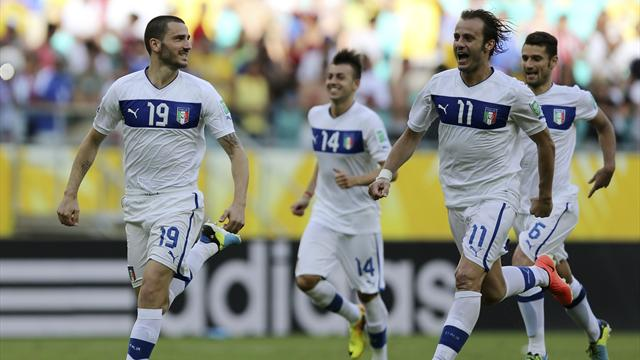 Confederations Cup - Italy beat Uruguay on penalties to finish third
