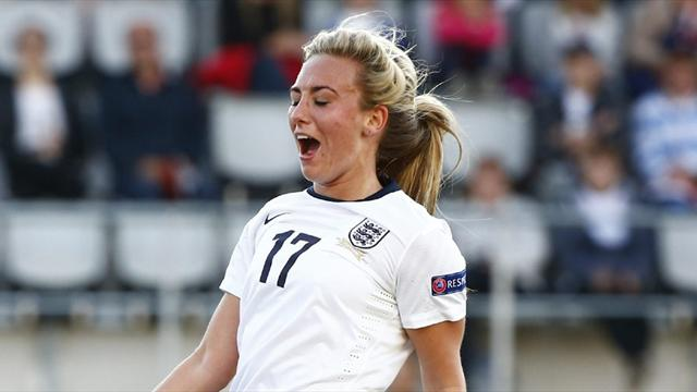 Women's Euro - Duggan salvages vital point for England