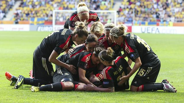 Women's Euro - Germany beat Norway for sixth straight title