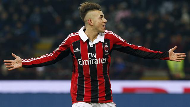 Champions League - El Shaarawy goal earns Milan draw at PSV