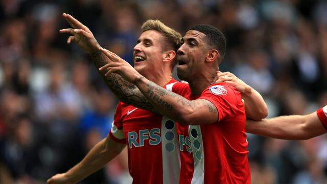 Championship - Derby denied at the death by Blackburn