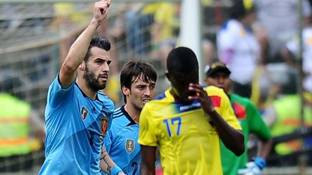 International friendlies - Spain ease to win against emotional Ecuador