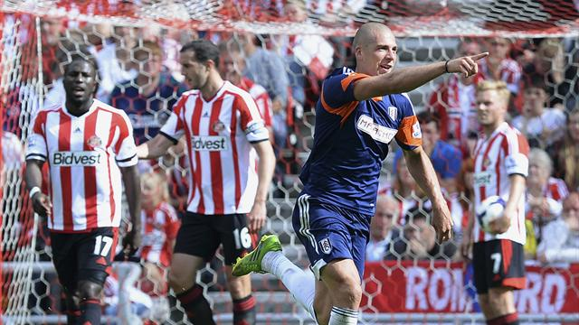 Premier League - Di Canio beaten as Fulham win at Sunderland