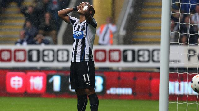 Premier League - Gouffran misses late sitter in Newcastle-West Ham stalemate