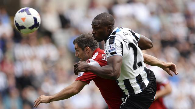 Premier League - Ben Arfa screamer lifts Newcastle over Fulham