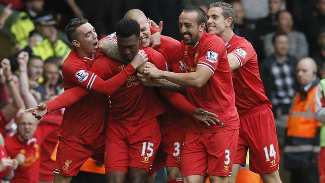 Premier League - Sturridge strikes again as Reds beat United to go top