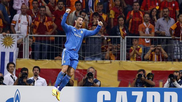 Champions League - Ronaldo bags a treble as Real hit Gala for six