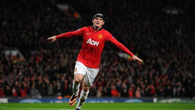 Champions League - Moyes thrilled with 'lean and fit' Rooney