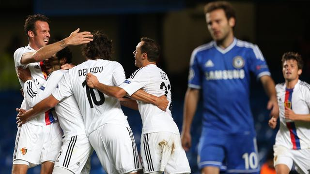 Champions League - Basel hand Chelsea shock defeat at Stamford Bridge