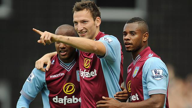 Premier League - Kozak strikes as Villa beat Norwich