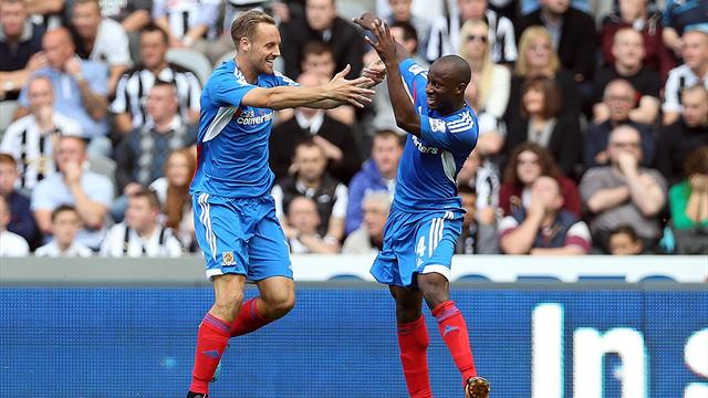 Premier League - Super Aluko strike secures Hull win at Newcastle
