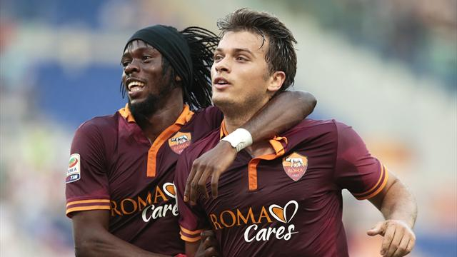 Serie A - Ljajic inspires Roma to derby win over Lazio