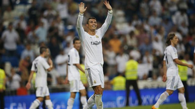 Liga - Ronaldo at the double for Real Madrid