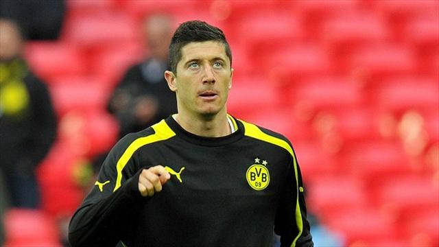 Bundesliga - Lewandowski confirms Bayern move