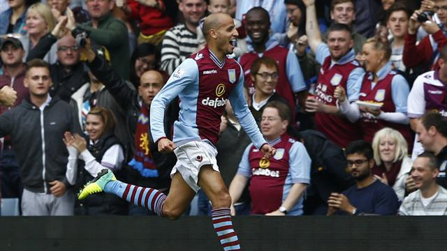Premier League - Villa stun Manchester City in smash and grab