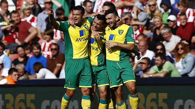 Premier League - Norwich win at impotent Stoke