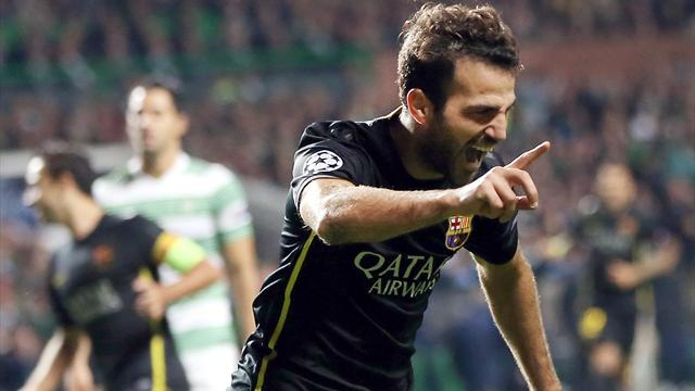 Champions League - Barcelona edge 10-man Celtic