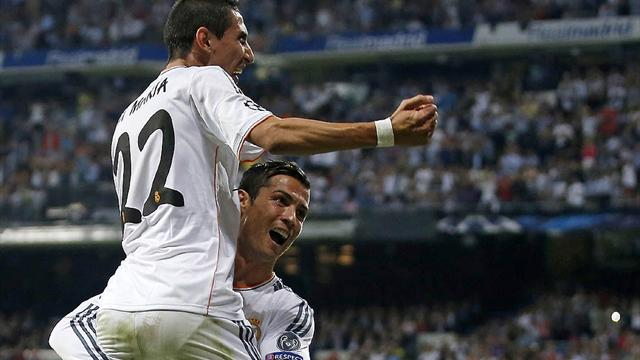 Champions League - Ronaldo and Di Maria ease Real past Copenhagen