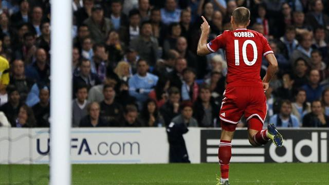Champions League - Robben extends scoring streak as Bayern dismantle City