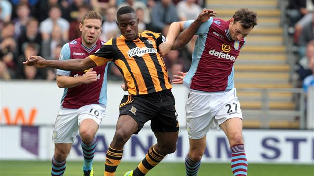 Premier League - Dogged Hull grind out point against Villa
