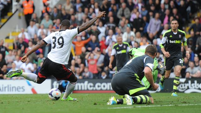 Premier League - Bent seals Fulham home win over Stoke