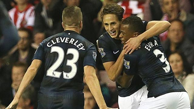 Premier League - Januzaj double earns United victory at Sunderland