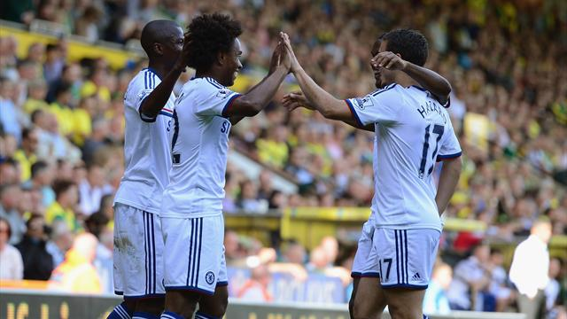 Premier League - Chelsea subs seal win at Norwich