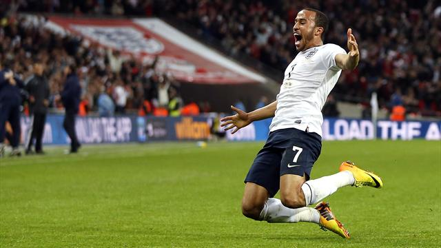 World Cup - Super Townsend helps England go top with win over Montenegro