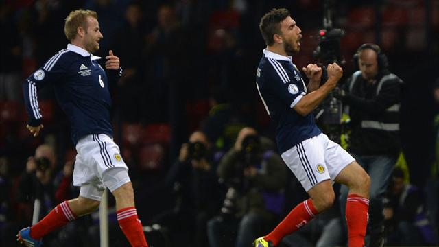 World Cup - Scotland shock Croatia at Hampden