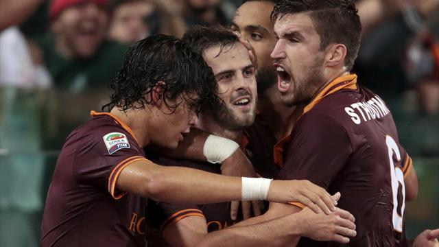 Serie A - Pjanic double sees Roma past Napoli