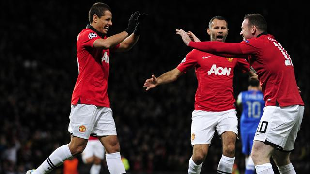 Champions League - Giggs shows class as United topple Sociedad