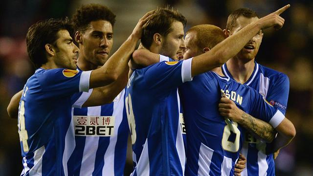 Europa League - Powell wonder strike earns Wigan a point